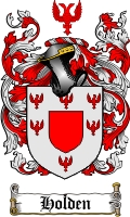 Pay for Holden Family Crest / Holden Coat of Arms