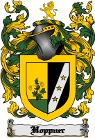 Pay for Hoppner Family Crest  Hoppner Coat of Arms Digital Download