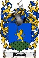 Pay for Horvath Family Crest  Horvath Coat of Arms Digital Download