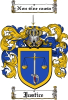 Pay for Justice Family Crest  Justice Coat of Arms