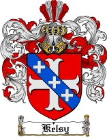 Pay for Kelsy Family Crest  Kelsy Coat of Arms