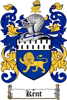 Pay for Kent Family Crest / Kent Coat of Arms