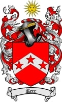 Pay for Kerr Family Crest / Kerr Coat of Arms