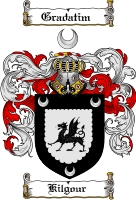Pay for Kilgour Family Crest  Kilgour Coat of Arms