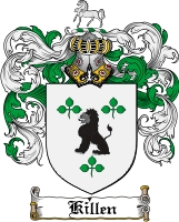 Pay for Killen Family Crest  Killen Coat of Arms
