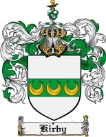 Pay for Kirby Family Crest Kirby Coat of Arms Digital Download