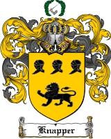 Pay for Knapper Family Crest  Knapper Coat of Arms