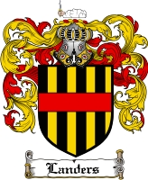 Pay for Landers Family Crest  Landers Coat of Arms