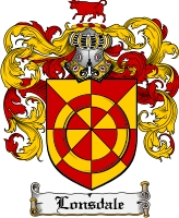 Pay for Lonsdale Family Crest Lonsdale Coat of Arms Digital Download