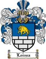 Pay for Lorenz Family Crest  Lorenz Coat of Arms