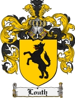 Pay for Louth Family Crest Louth Coat of Arms Digital Download
