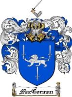 Pay for Macgorman Family Crest  Macgorman Coat of Arms