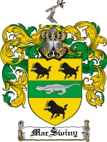 Pay for Macswiny Family Crest  Macswiny Coat of Arms