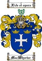Pay for Macwherter Family Crest  Macwherter Coat of Arms