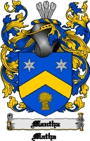 Mantha Family Crest Mantha Coat of Arms Digital Download