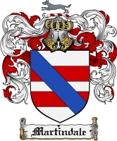 Pay for Martindale Family Crest Martindale Coat of Arms Digital Download