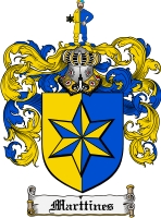 Pay for Marttines Family Crest  Marttines Coat of Arms