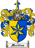Pay for Marttins Family Crest  Marttins Coat of Arms