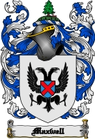 Pay for Maxwell Family Crest  Maxwell Coat of Arms Digital Download