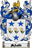 Mcauliffe Family Crest Mcauliffe Coat of Arms Digital ...