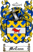 Pay for Mccann Family Crest / Mccann Coat of Arms