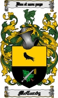 Pay for Mccurdy Family Crest / Mccurdy Coat of Arms