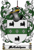 Pay for Mccutcheon Family Crest  Mccutcheon Coat of Arms Digital Download