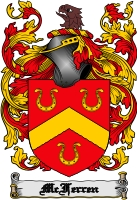 Pay for Mcferren Family Crest  Mcferren Coat of Arms Digital Download
