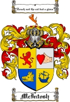 Pay for Mcintosh Family Crest  Mcintosh Coat of Arms
