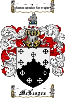 Pay for Mckeague Family Crest  Mckeague Coat of Arms