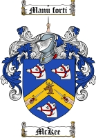 Pay for Mckee Family Crest  Mckee Coat of Arms