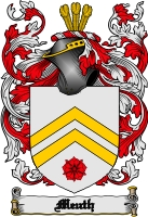 Meuth Family Crest Meuth Coat Of Arms Digital Download Download