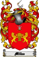 Pay for Millea Family Crest  Millea Coat of Arms Digital Download