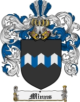 Pay for Minns Family Crest  Minns Coat of Arms