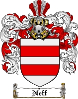 Pay for Neff Family Crest  Neff Coat of Arms
