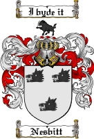 Pay for Nesbitt Family Crest  Nesbitt Coat of Arms
