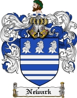 Pay for Newark Family Crest Newark Coat of Arms Digital Download