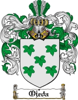 Pay for Ojeda Family Crest  Ojeda Coat of Arms