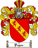 Pay for Pagan Family Crest  Pagan Coat of Arms