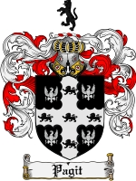 Pay for Pagit Family Crest  Pagit Coat of Arms