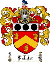 Pay for Painter Family Crest  Painter Coat of Arms