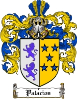 Pay for Palacios Family Crest  Palacios Coat of Arms