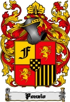 Pay for Ponzio Family Crest  Ponzio Coat of Arms Digital Download