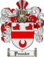 Pay for Pounter Family Crest  Pounter Coat of Arms
