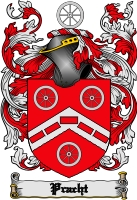 Pay for Pracht Family Crest  Pracht Coat of Arms Digital Download