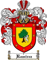 Pay for Ramirez Family Crest / Ramirez Coat of Arms