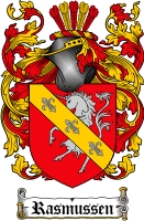 Pay for Rasmussen Family Crest  Rasmussen Coat of Arms