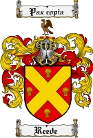 Pay for Reede Family Crest  Reede Coat of Arms