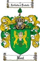 Pay for Reel Family Crest  Reel Coat of Arms