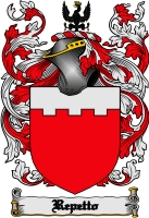 Pay for Repetto Family Crest  Repetto Coat of Arms Digital Download
